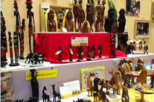 African handicraft gift shop